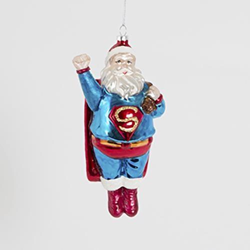 Sass & Belle Sleigh No More Super Santa Hanging Decoration