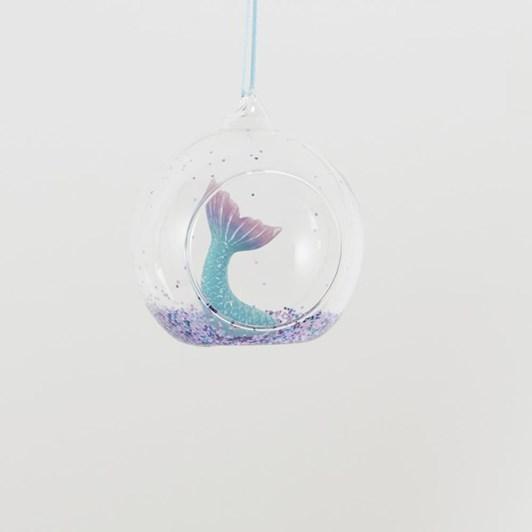 Sass & Belle Glitter Mermaid Tail Open Bauble