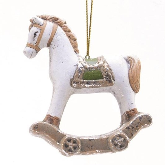 Decoris Rocking Horse Decoration With Hanger