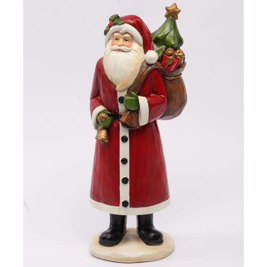 Tradtional Santa With Sack