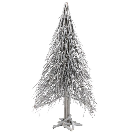 White Wash Christmas Tree Large