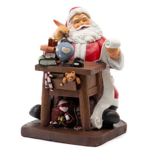 Santa Writing At Desk 26cm