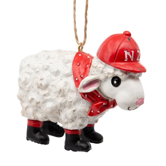 New Zealand Sheep Ornament 3.5 Inch