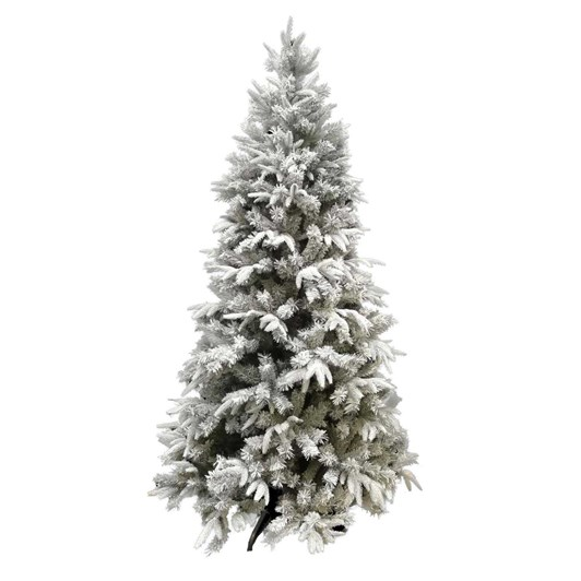 Mixed Pine Christmas Tree With Snow 7 Foot