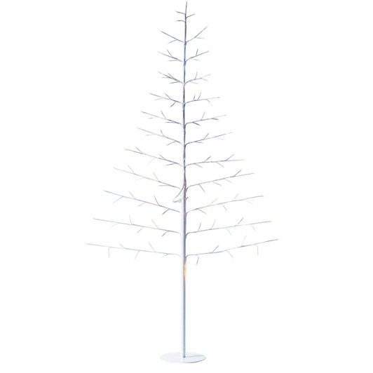 Stellar Haus Tall Flat White Warm White Standing Tree 180cm