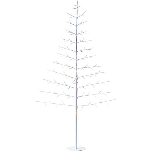 Stellar Haus Small Flat White Warm White Standing Tree 90cm