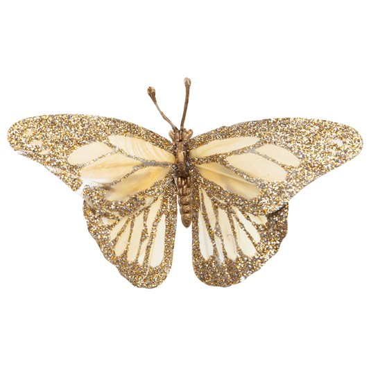 Glitter Butterfly 4.5 Inch Pack Of 12