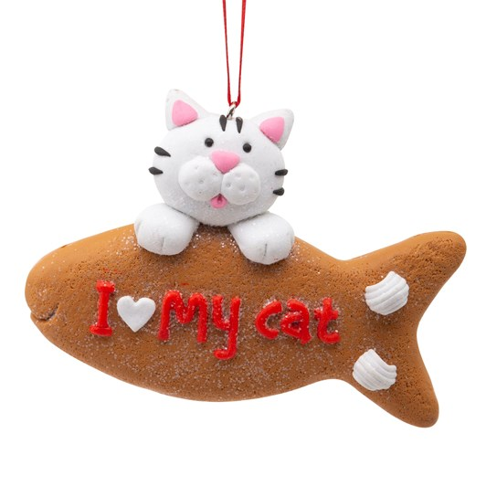 I Love My Pet Ornament