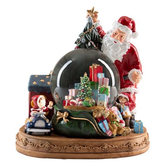 Santa Claus Musical Snow Globe