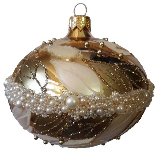 Szklo-Dekor 8 Cm Flat Ball