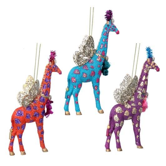 Gisela Graham Fantasy Giraffe Resin/Metal Decoration