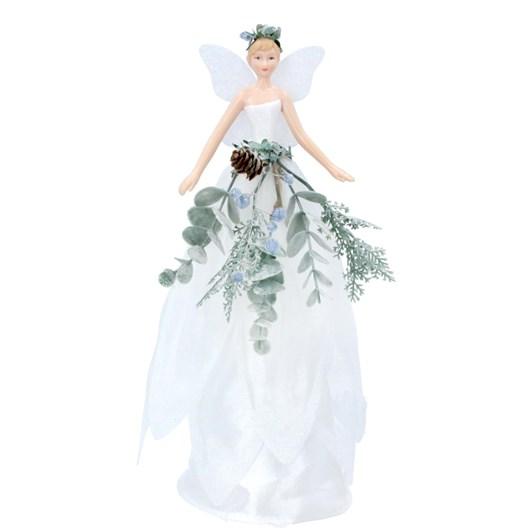 Gisela Graham Eucalyptus Tree Top Fairy, Large