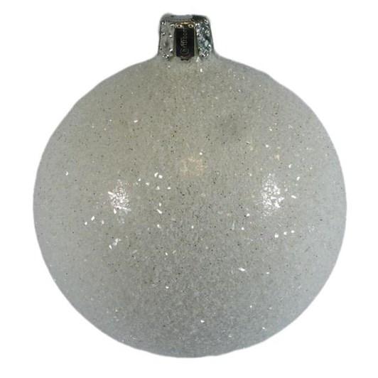 Christborn 8 Cm Ball, Silver Shiny - Loft