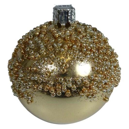 Christborn 6 Cm Ball, Lightgold Metallic - Goldrush