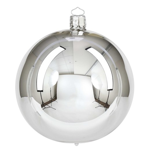 Christborn 8 Cm Ball, Silver Shiny - Uni