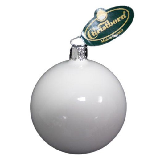 Christborn 10 Cm Ball, White Opal - Uni