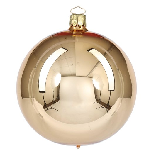 Christborn 8 Cm Ball, Gold Shiny - Uni