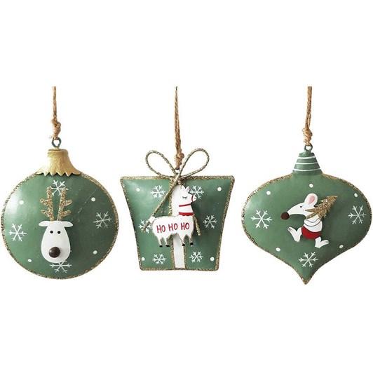 Mouse Reindeer & Llama Hanging Decoration