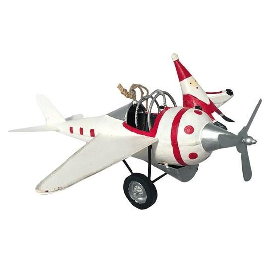 G Bork Santa on Plane