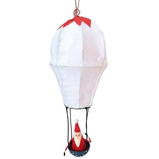 G Bork Hot Air balloon with Santa