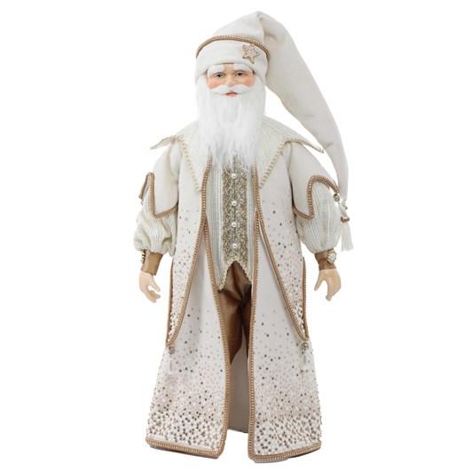 "18"" Cream Santa Doll"