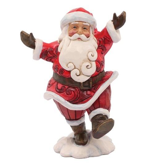 "Hwc 5"" Pint Santa Walking"