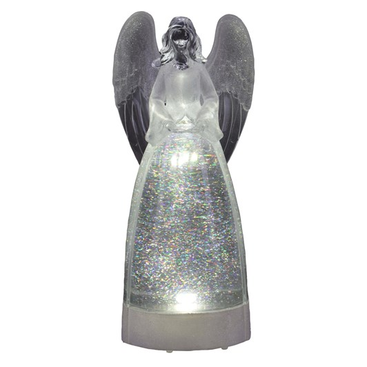 Clear Angel Lava Light LED 12.5 Inch