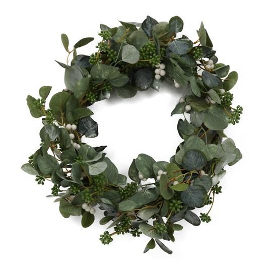 Wreath With Eucalyptus Leaf 28 Inch