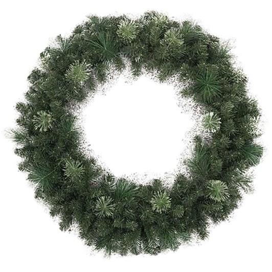 """48"""" Flowering Pine Wreath"""