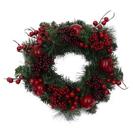 Enchante Luxury Apple Candle Christmas Wreath