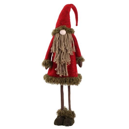 Enchante Folk Art Large Rope Santa