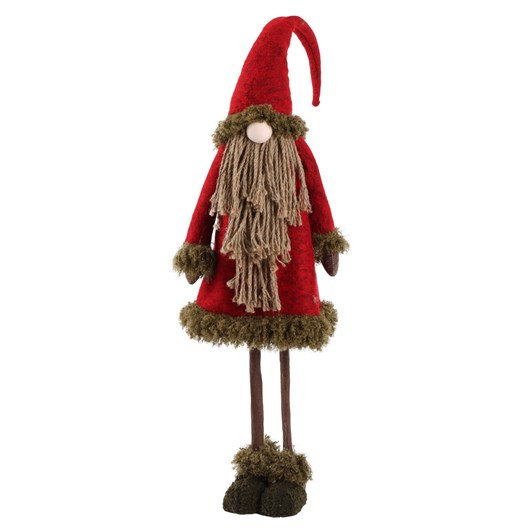 Enchante Folk Art Medium Rope Santa