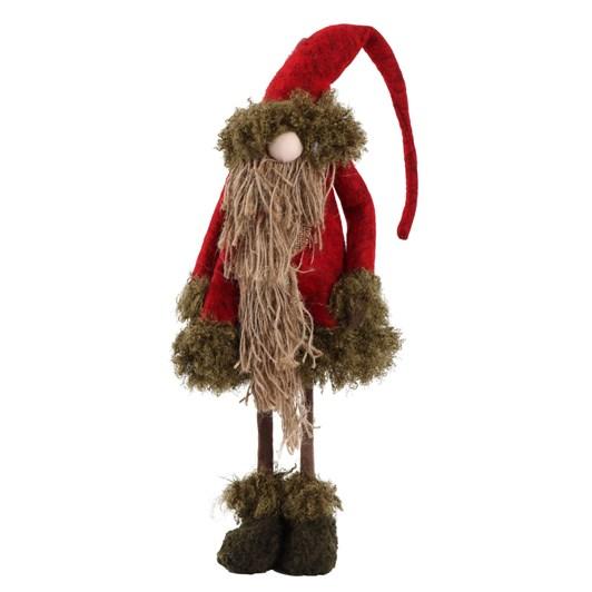 Enchante Folk Art Small Rope Santa