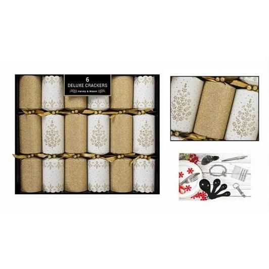 Image Gallery Deluxe Gold Cream Crackers 6x14