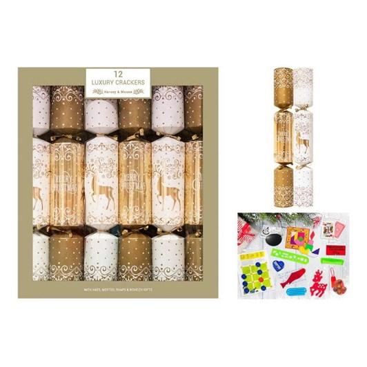 Image Gallery Luxury Gold Cream Crackers 12x14
