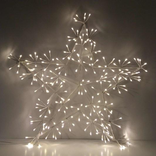 Stellar Haus White Warm White Star With 204 Lights 60cm