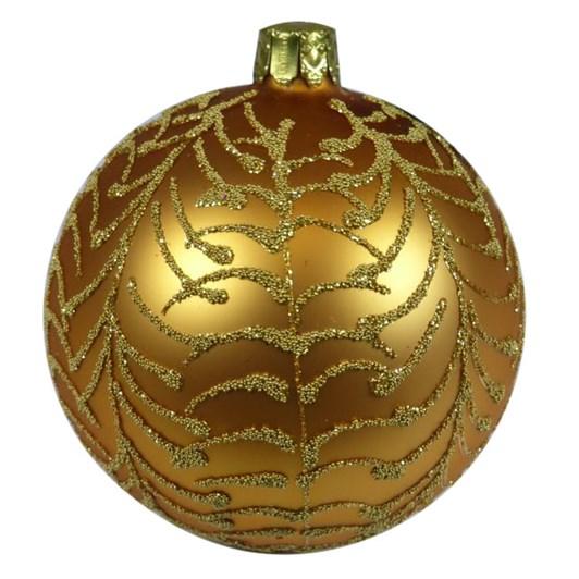 Ballantynes 8 Cm Ball, Gold Matt - Mimosa