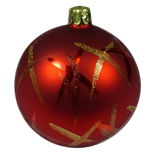 Ballantynes 8 Cm Ball, Red Matt - Tea Tree