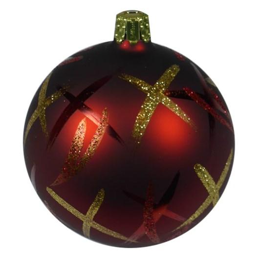 Ballantynes 8 Cm Ball, D'Red Matt - Tea Tree