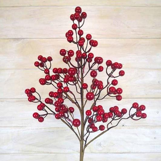 Large Red Berries Spray