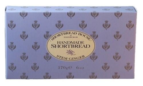 Shortbread House Stem Ginger Shortbread Fingers 170g