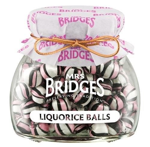 Mrs Bridges Liquorice Balls Sweet Jar 155g