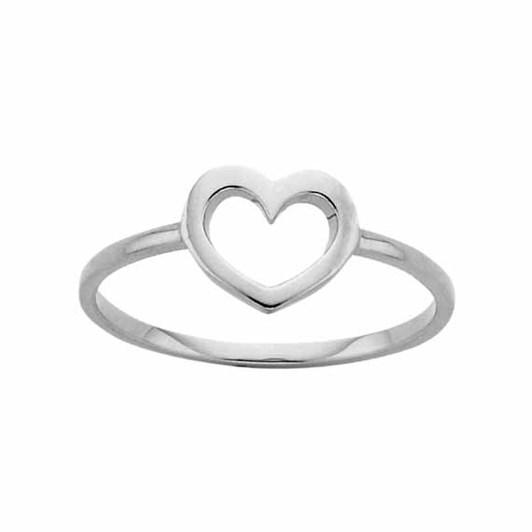 Karen Walker Mini Heart Ring