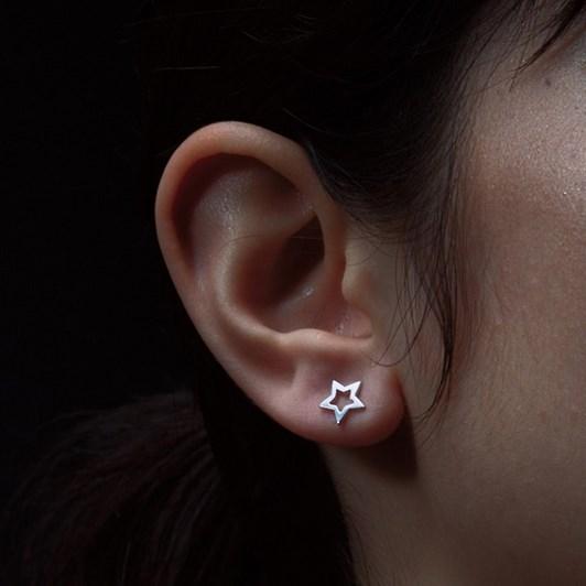 Karen Walker Mini Star Stud Earring