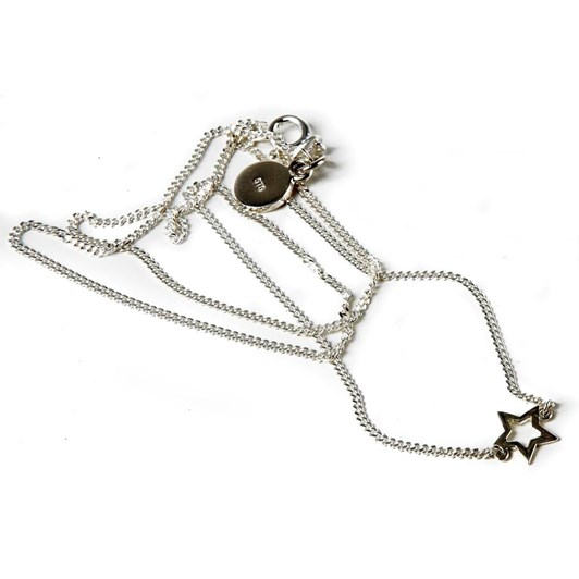 Karen Walker Mini Star Necklace