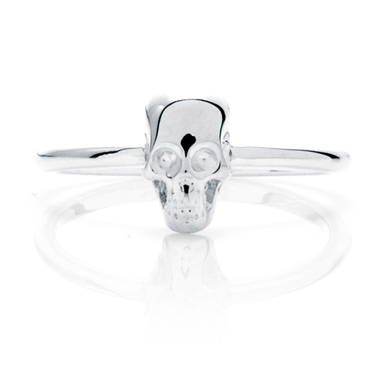 Stolen Girlfriends Club Essential Metal Baby Skull Ring