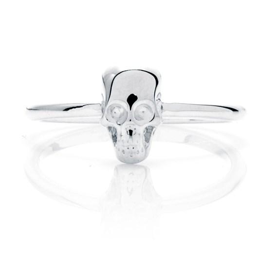 Stolen Girlfriends Club Essential Metal Baby Skull Ring