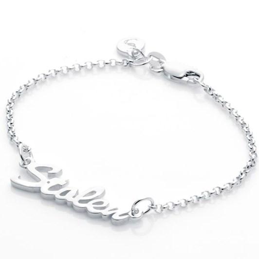 Stolen Girlfriends Club Essentail Metal Stolen Script Bracelet