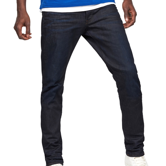 G-Star 3301 Tapered Jean - dk aged