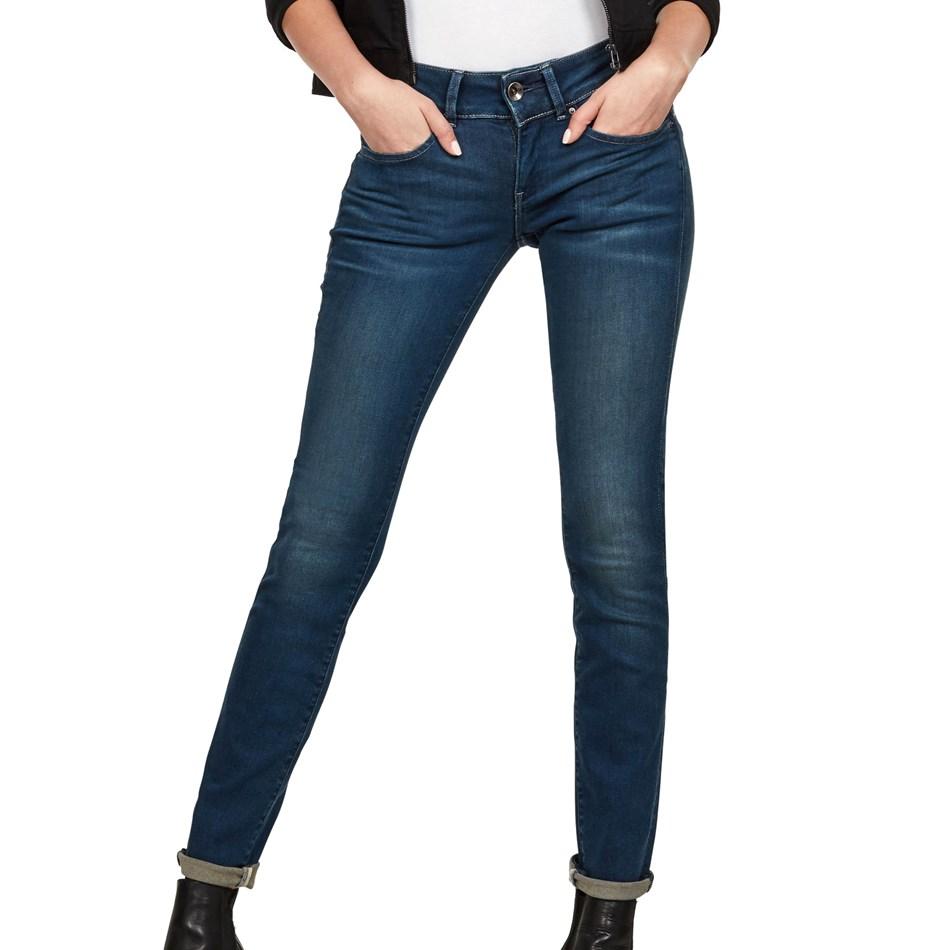G-Star Midge Cody Mid Skinny Jean Wmn - power wash